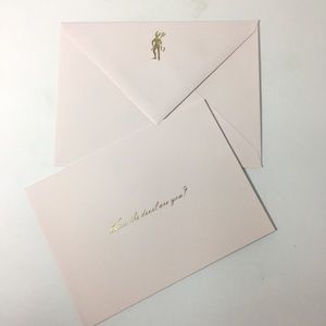 """8 Kate Spade Notecards """"how the devil are you"""""""